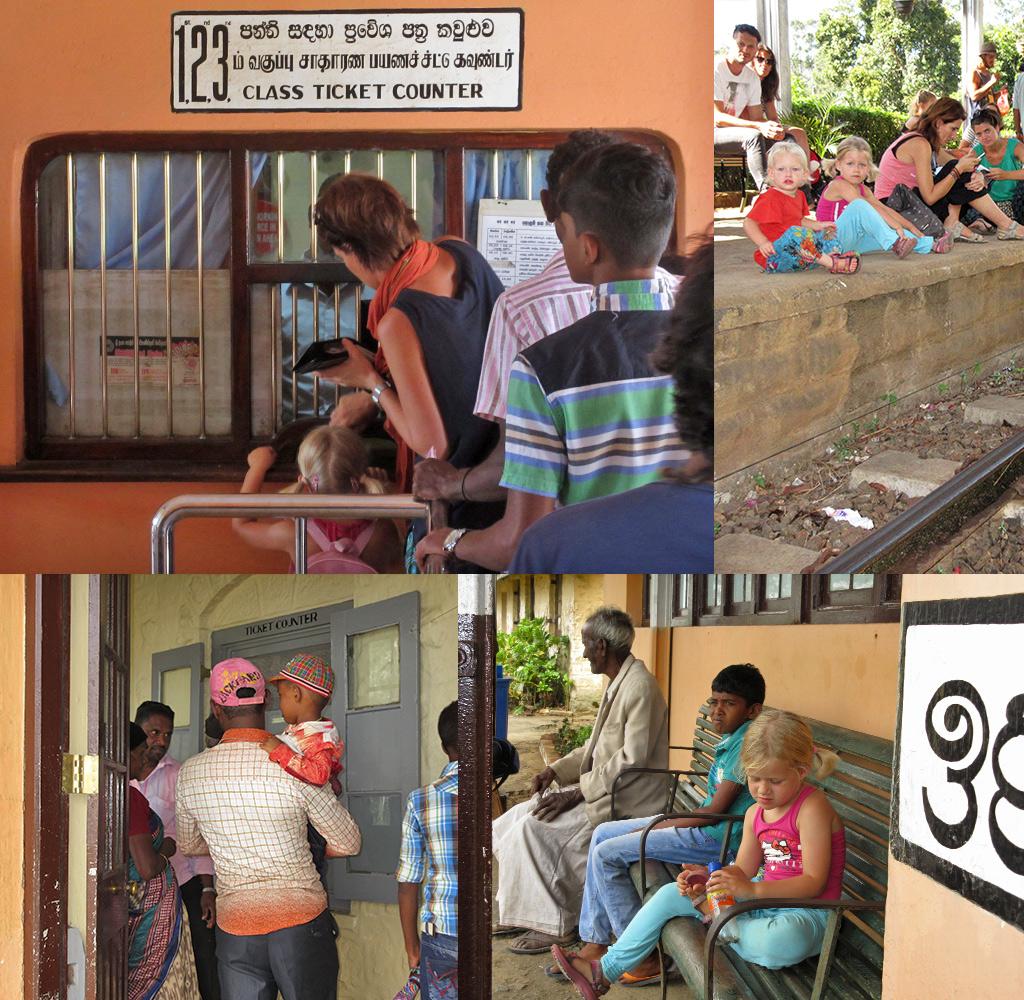 kaartjes kopen trein Sri Lanka