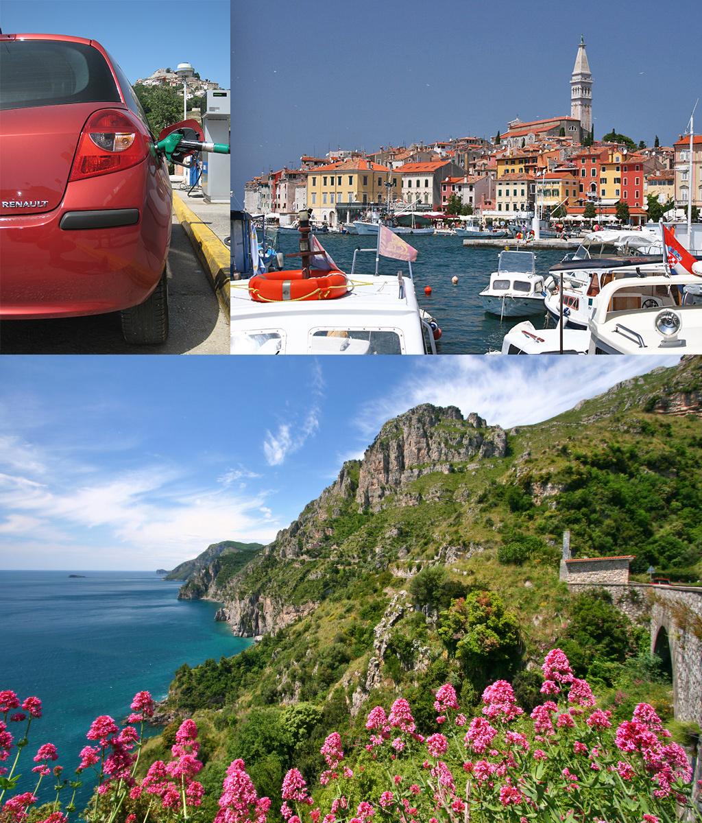 kamperen Kroatië en Italië