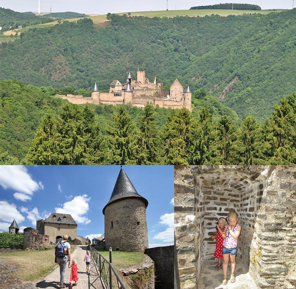 kasteel Bourscheid met kinderen
