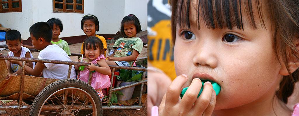 Lokale kinderen Thailand