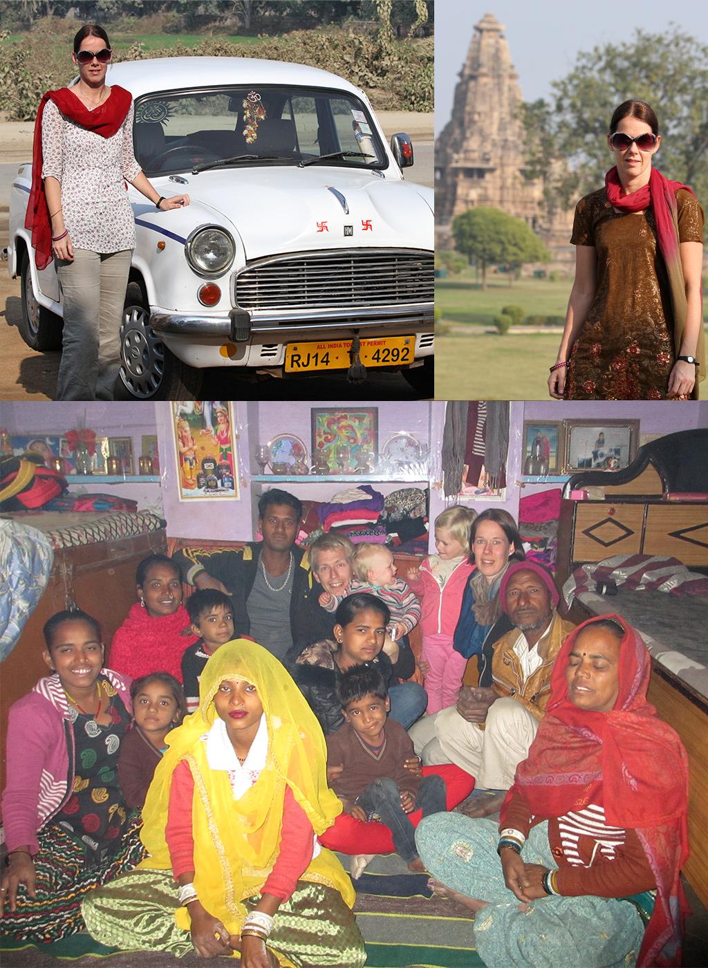 kleding op reis India