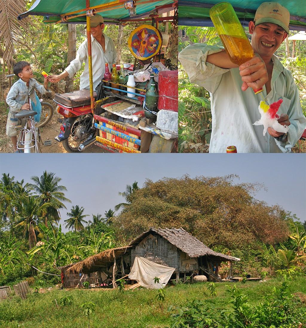 kneuterig Battambang en omgeving