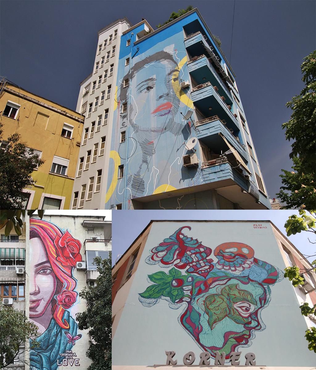 kunstproject Tirana