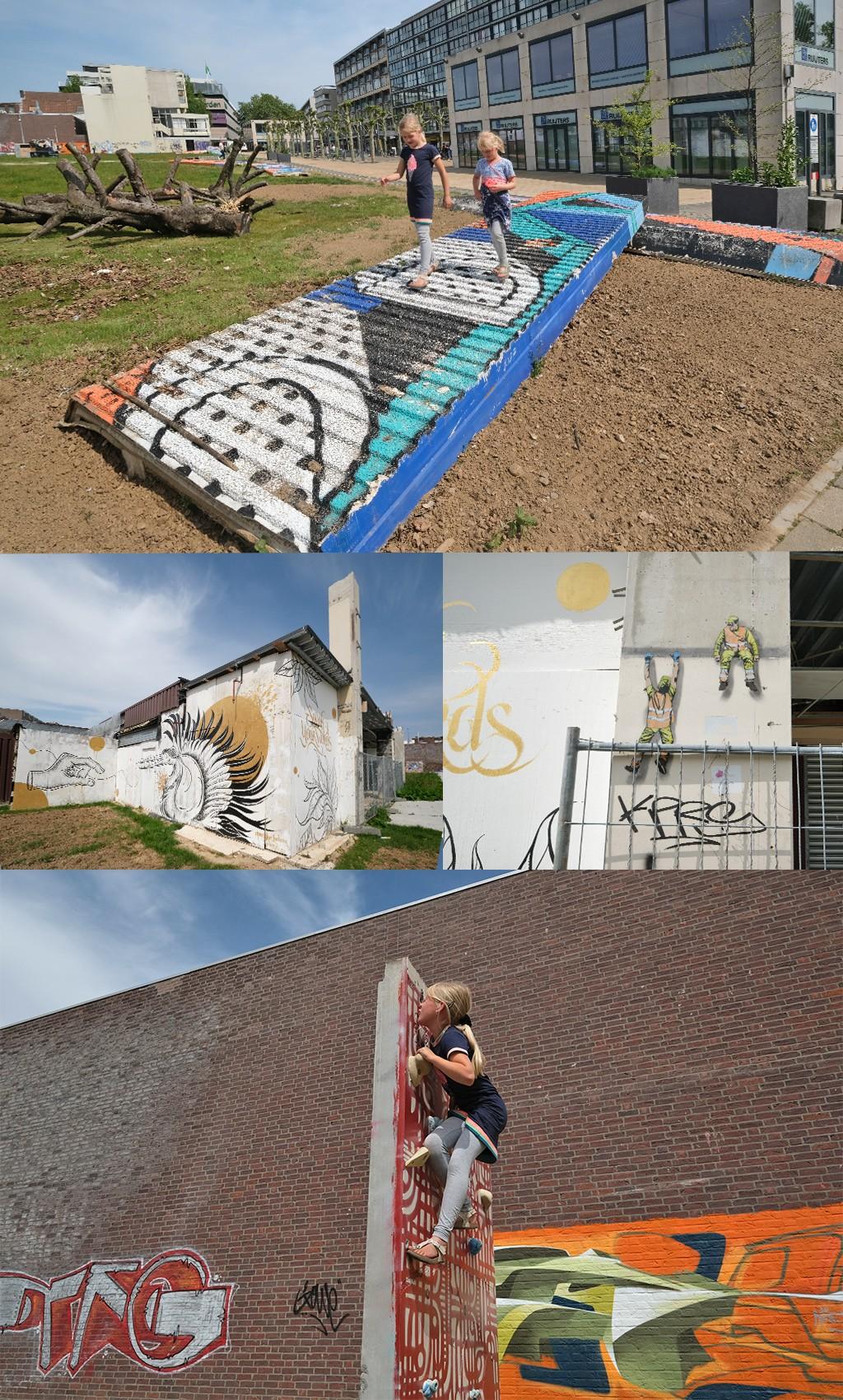 kunstwerken Promenade Heerlen