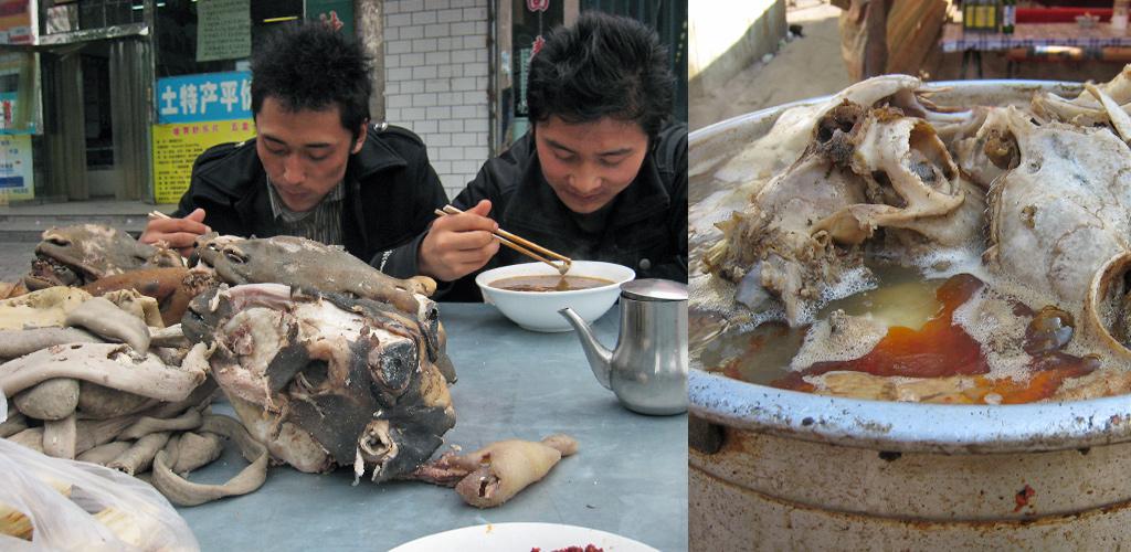 lekker eten in China