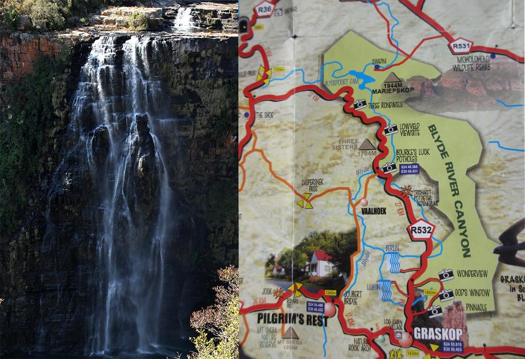 lisbon falls - Panoramaroute Zuid-Afrika