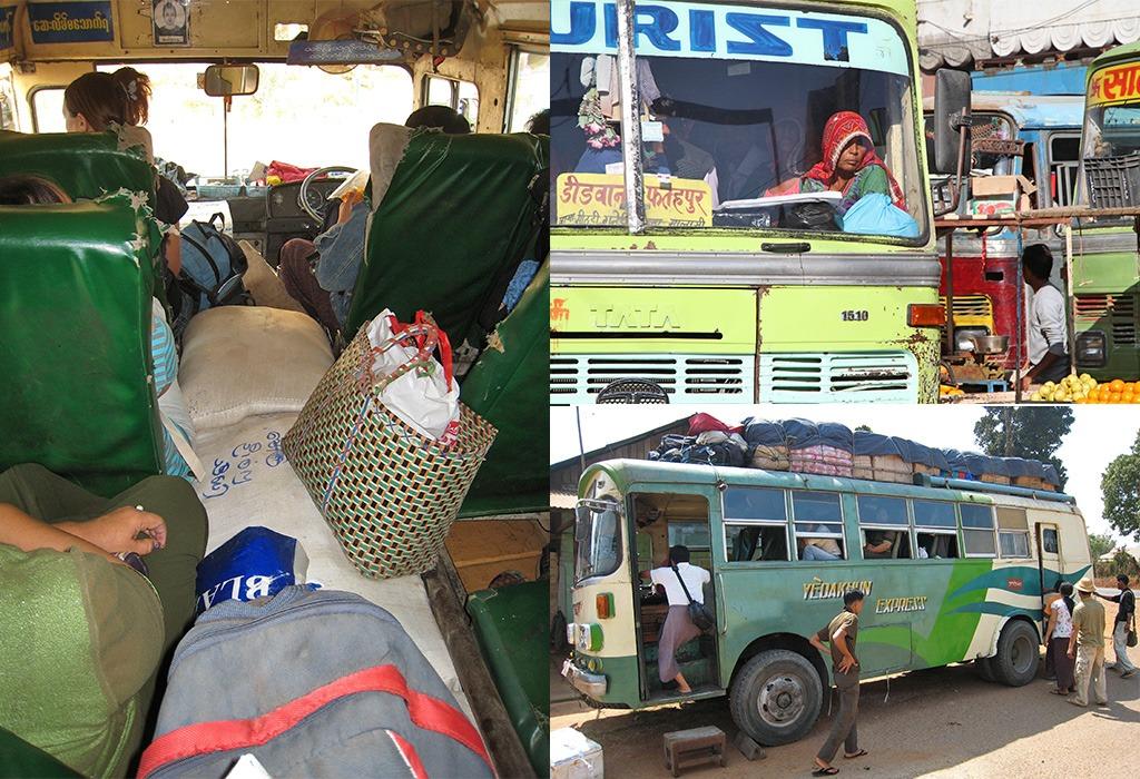 Reizen en locals helpen  door lokaal vervoer te kiezen