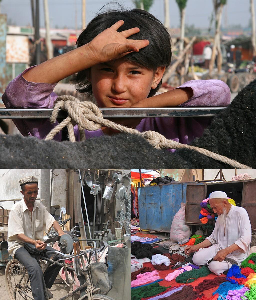 marktdag in Kashgar