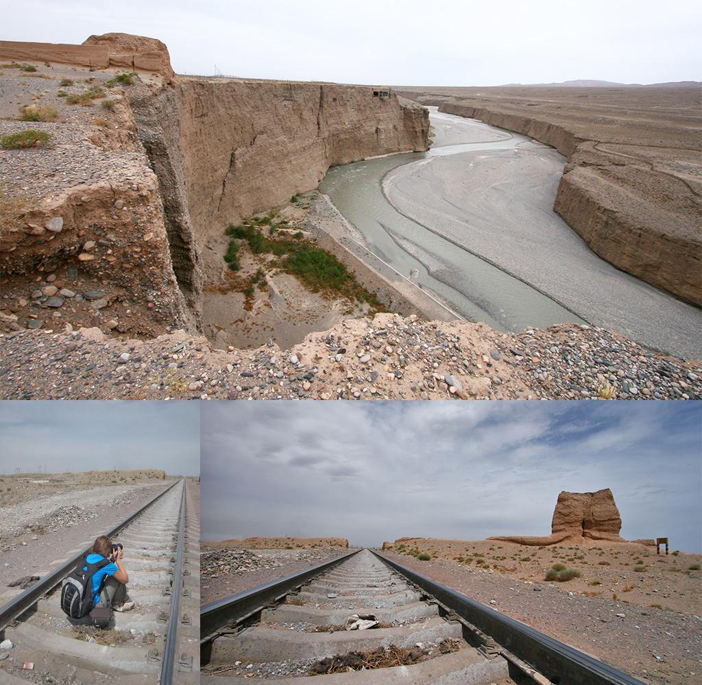 meest Westelijke punt Chinese muur