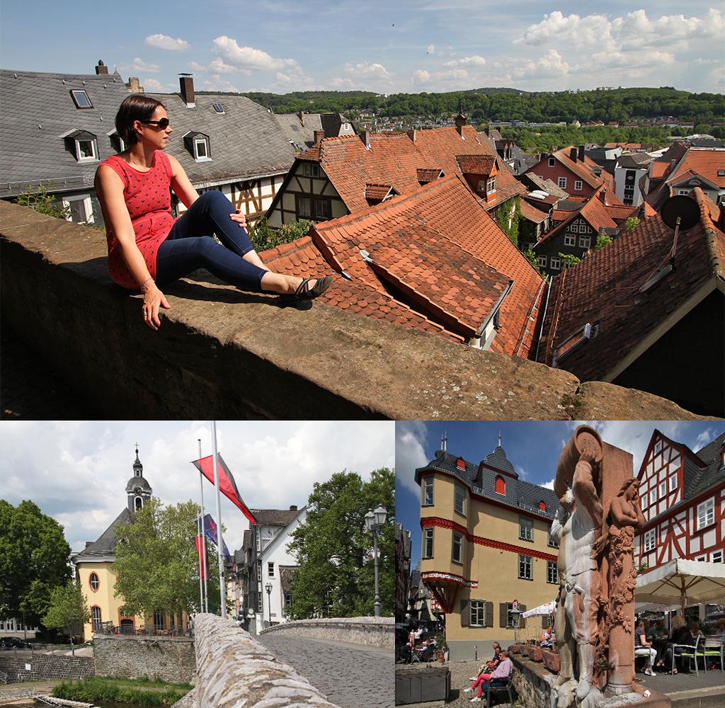 middeleeuwse stadjes Lahntal