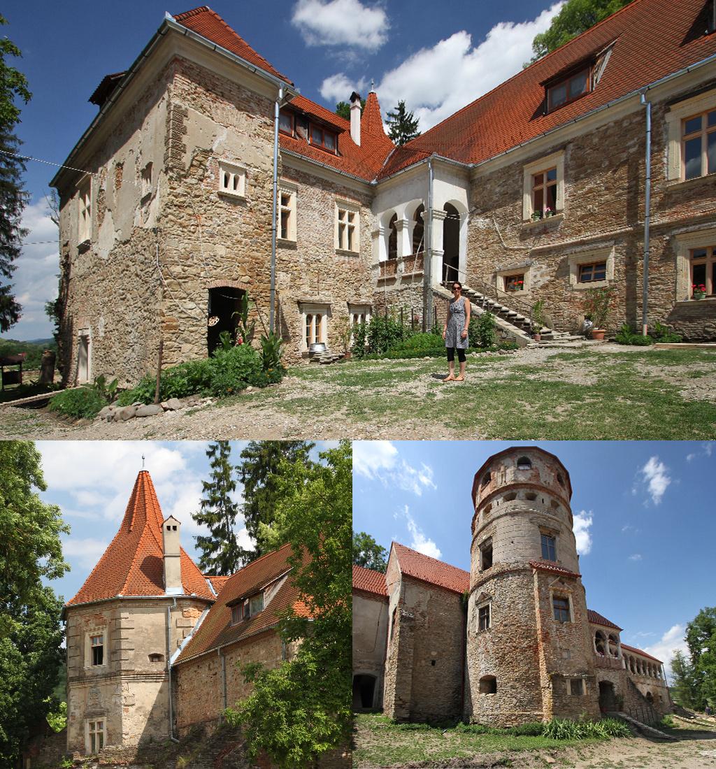 minder bekende kastelen Transsylvanië