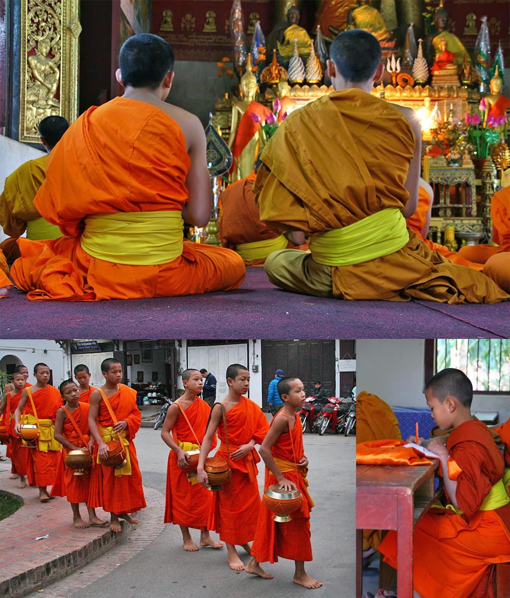 monniken Luang Prabang