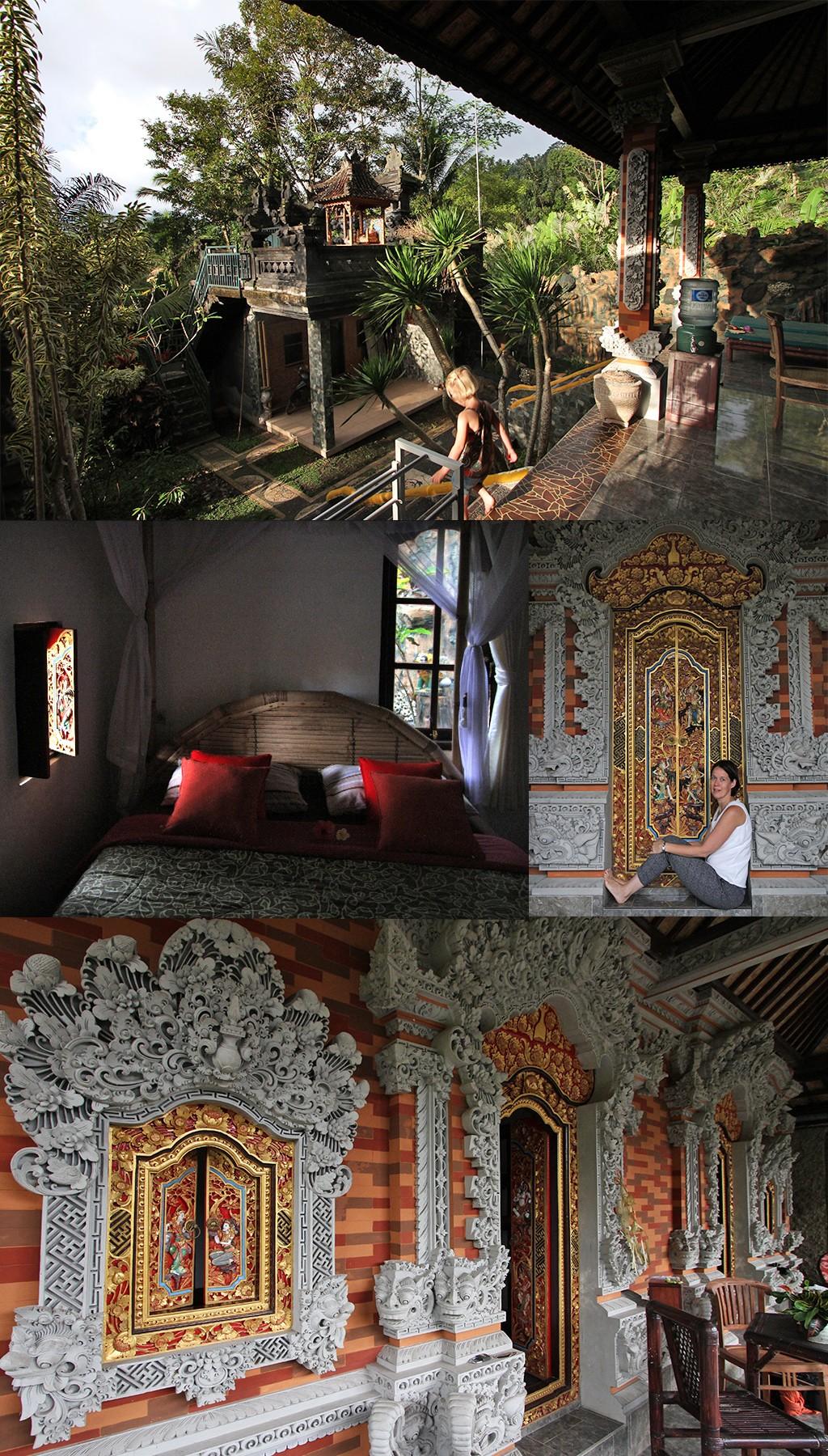 route Java, Bali en Lombok zonder toeristen - homestay Sidemen Bali