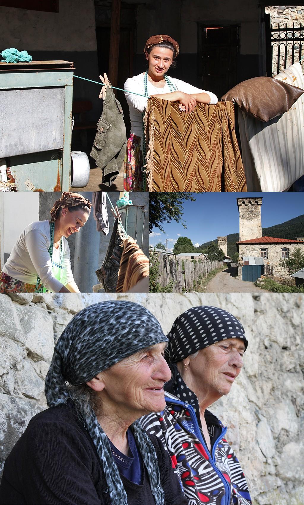mooie mensen in Svaneti