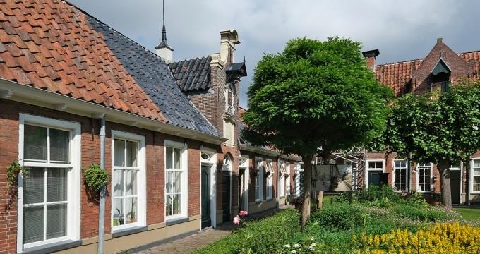 mooiste hofjes van Groningen
