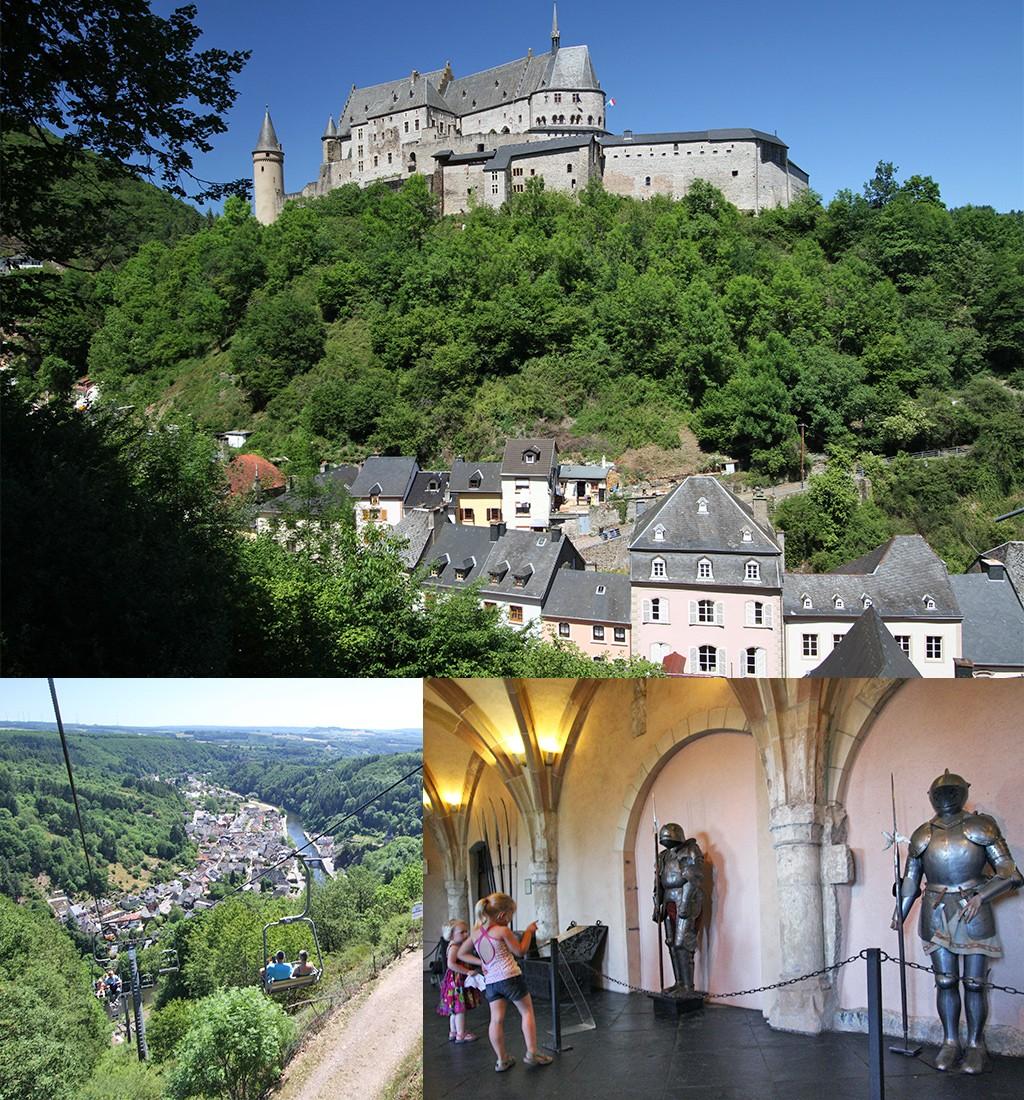 mooiste kastelen Luxemburg Vianden