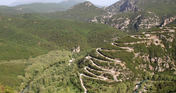 mooiste route roadtrip Noord-Griekenland
