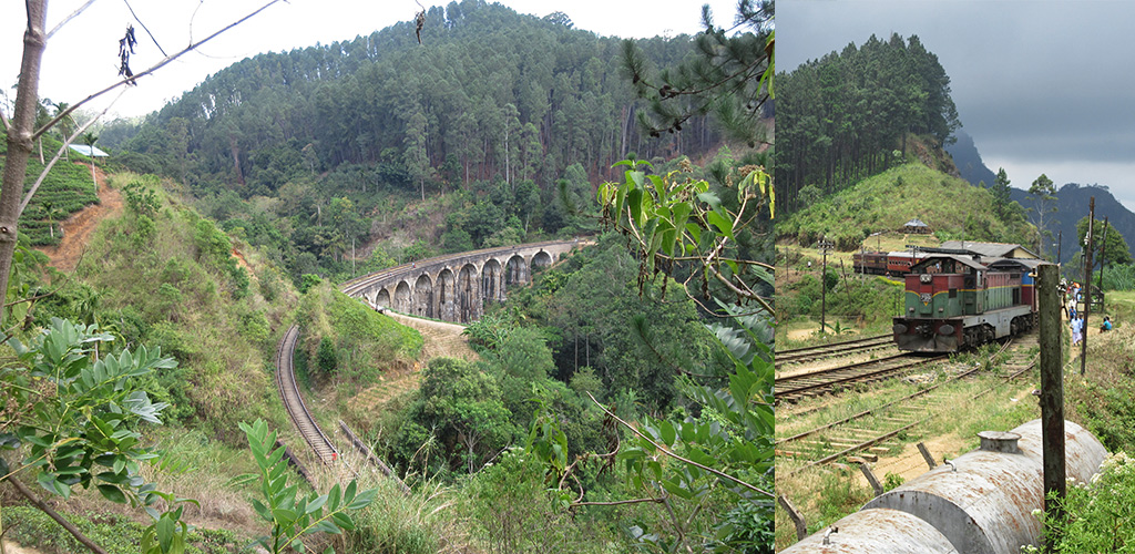 mooiste route treinSri Lanka