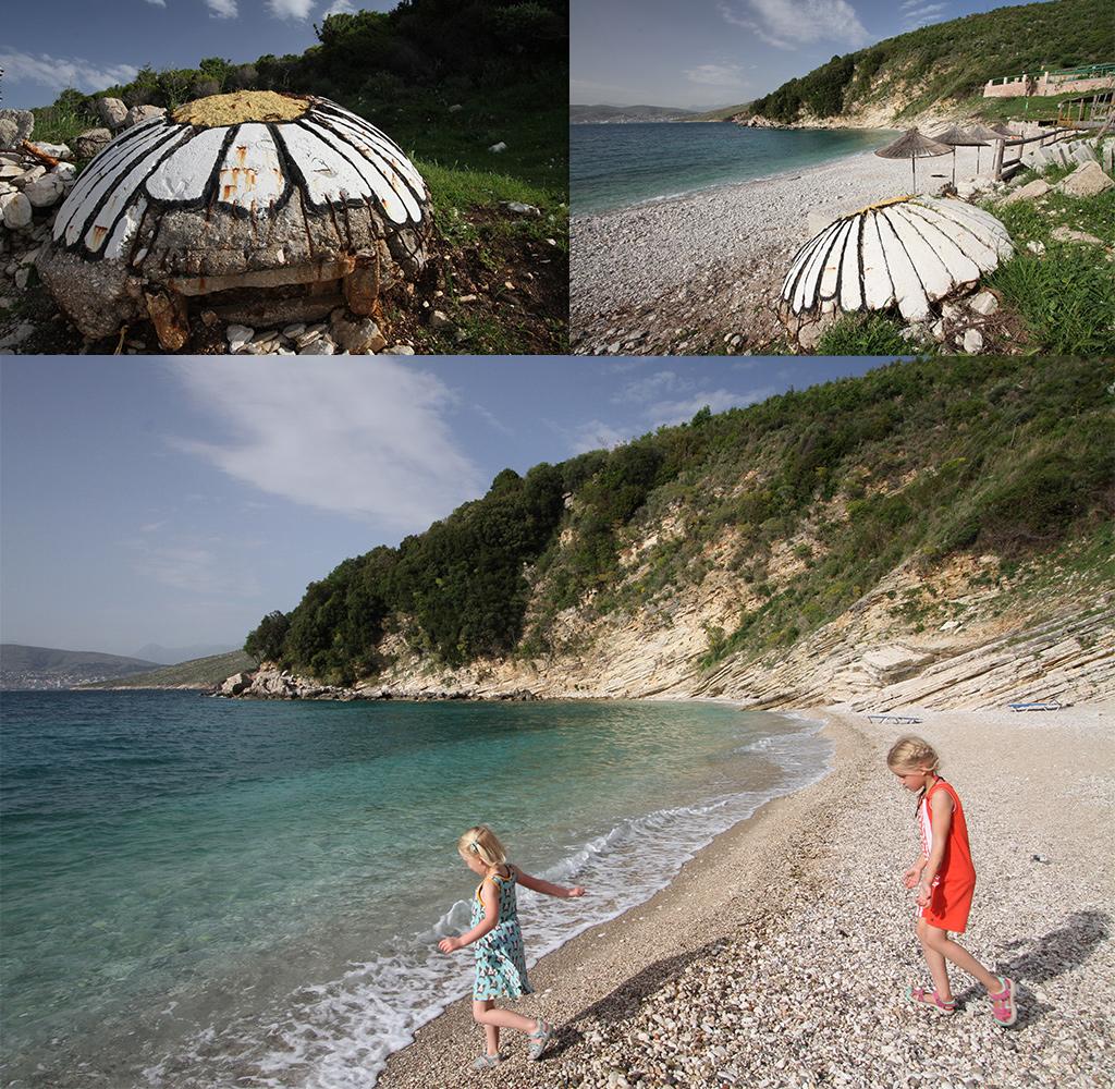 mooiste stranden Albanië - monastery beach