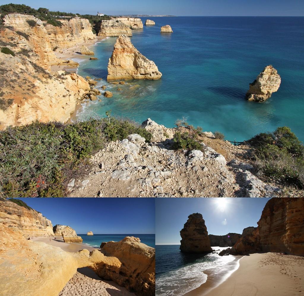 mooiste stranden Algarve - Praia da Marinha