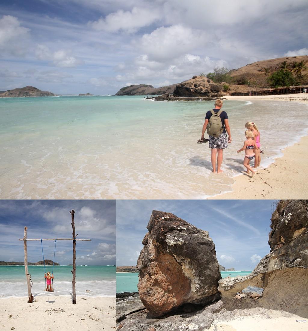 mooiste stranden Kuta Lombok - Tanjung Aan