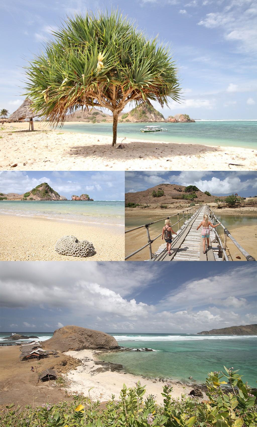 mooiste stranden Kuta Lombok - oosten