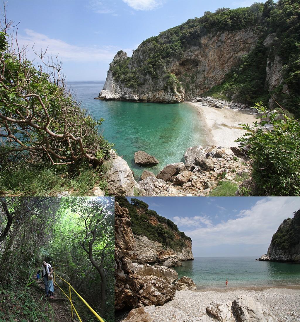 mooiste stranden Pilion - Fakistra