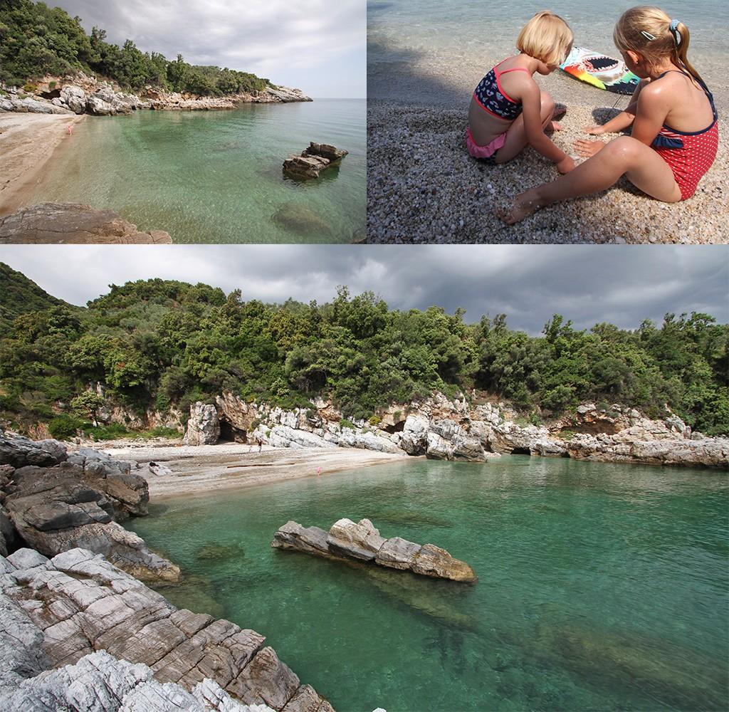 mooiste stranden Pilion - Lampinou
