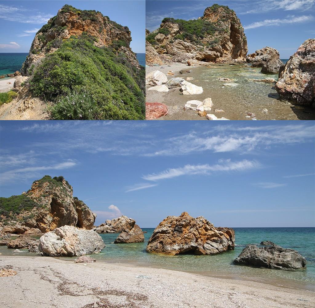 mooiste stranden Pilion - Melani beach