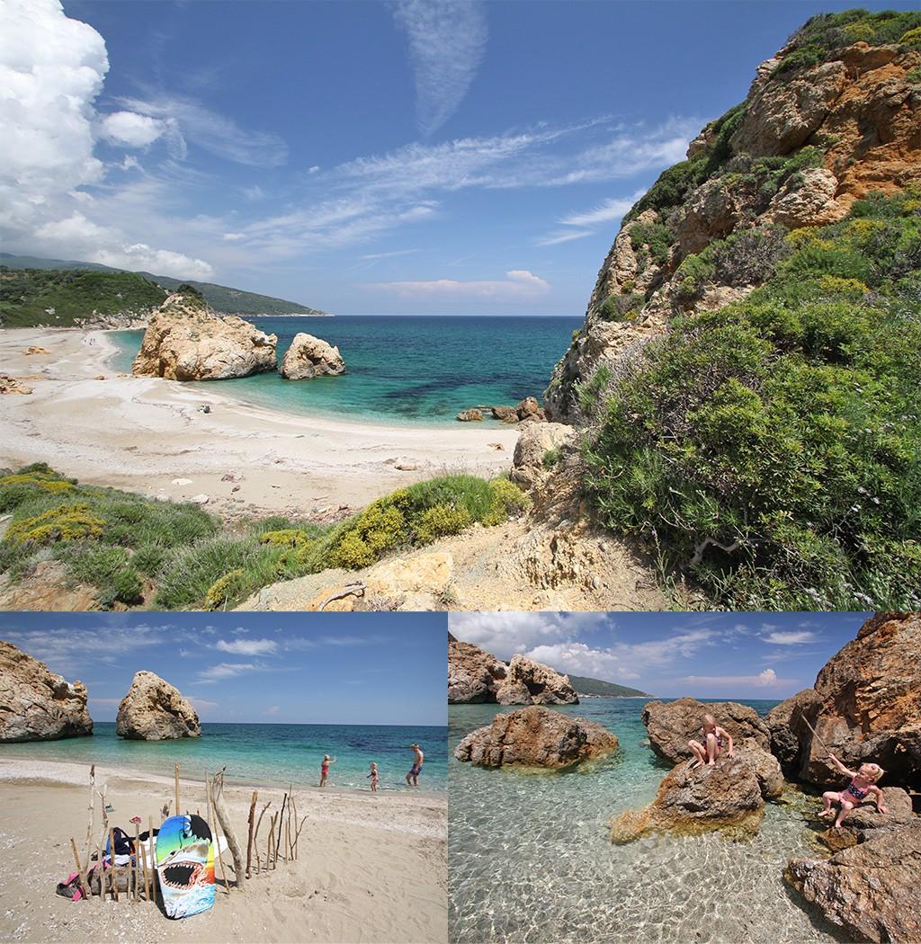 mooiste stranden Pilion - Potistika