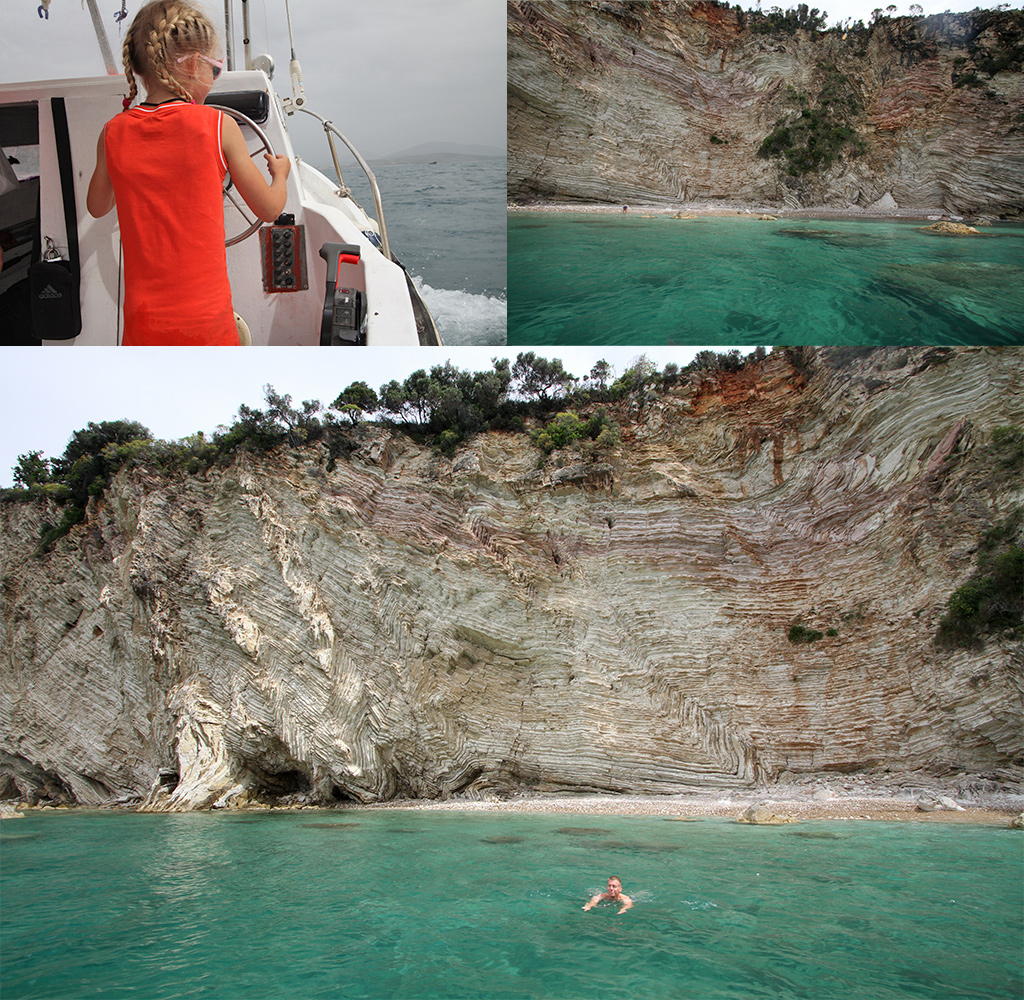mooiste stranden van Albanië - Gremina