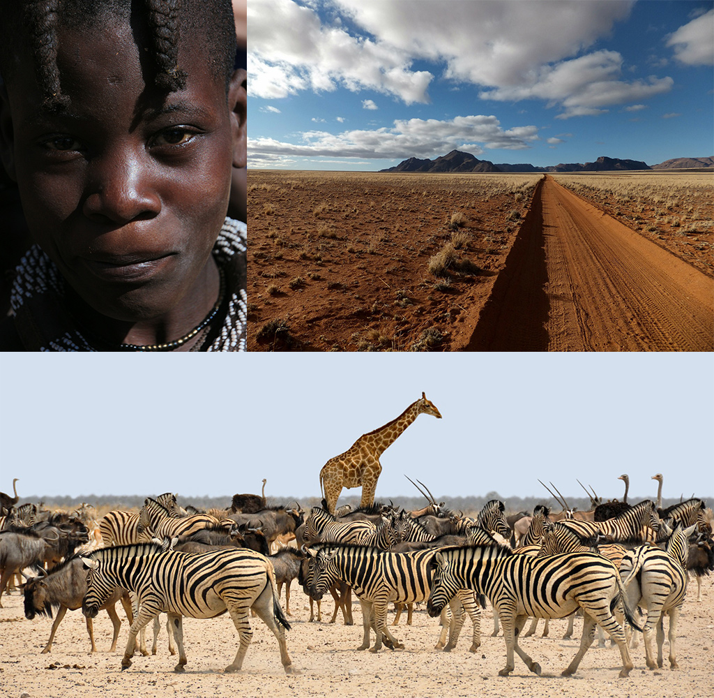 naar Namibië