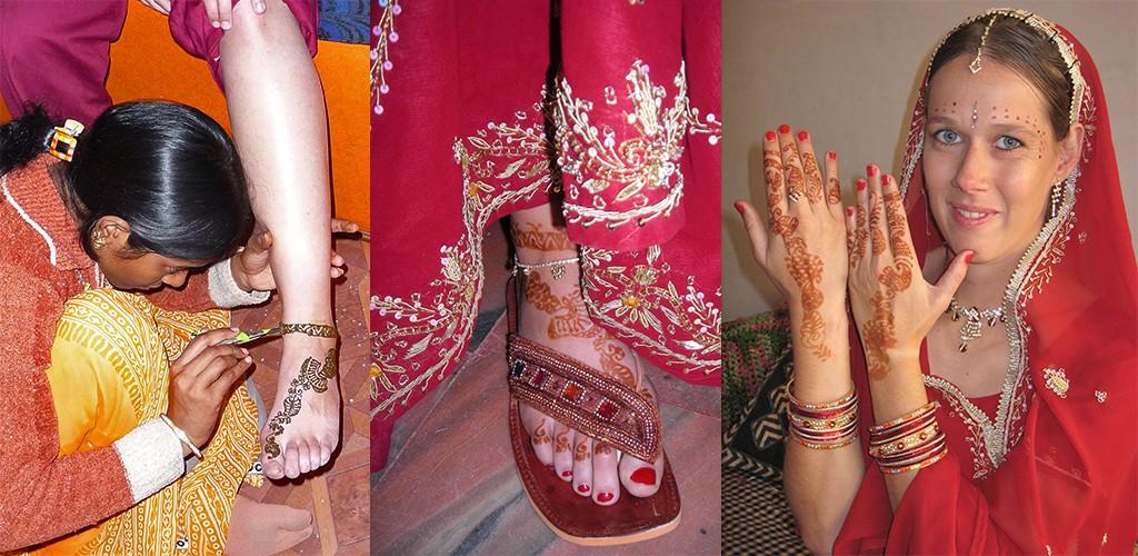 naar de schoonheidsspecialiste in India