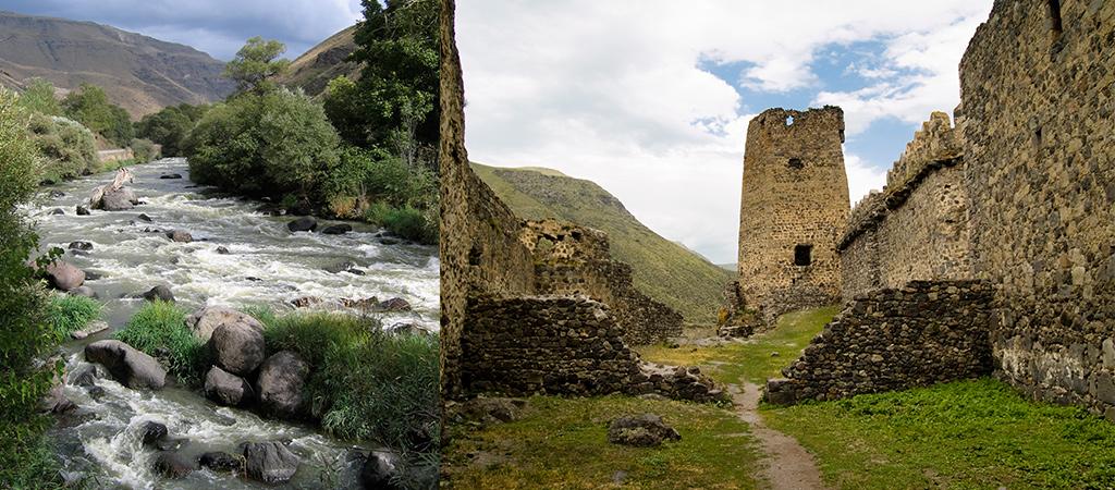 Natuur en geschiedenis rondom Kutaisi