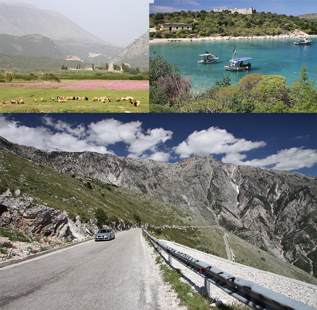 onbekende bestemming Albanië