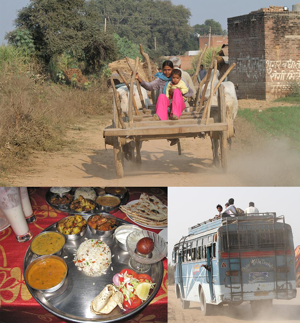 onderweg door Madhya Pradesh