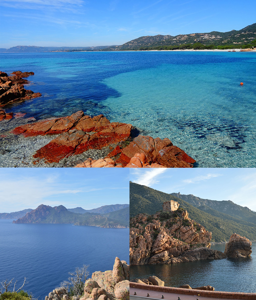 onontdekt Europa Corsica