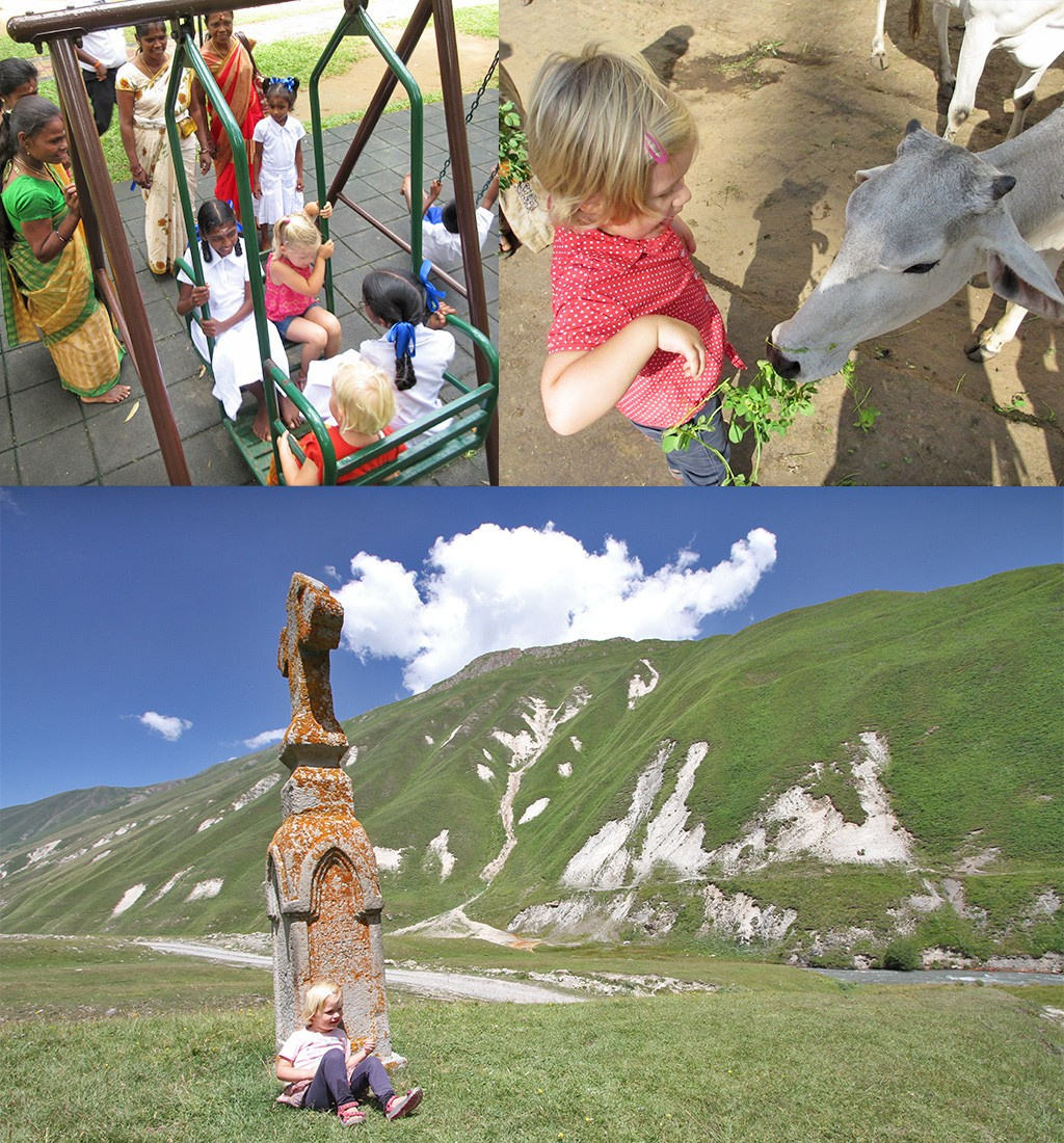 onze avontuurlijke reizen met kinderen - fijne herinneringen