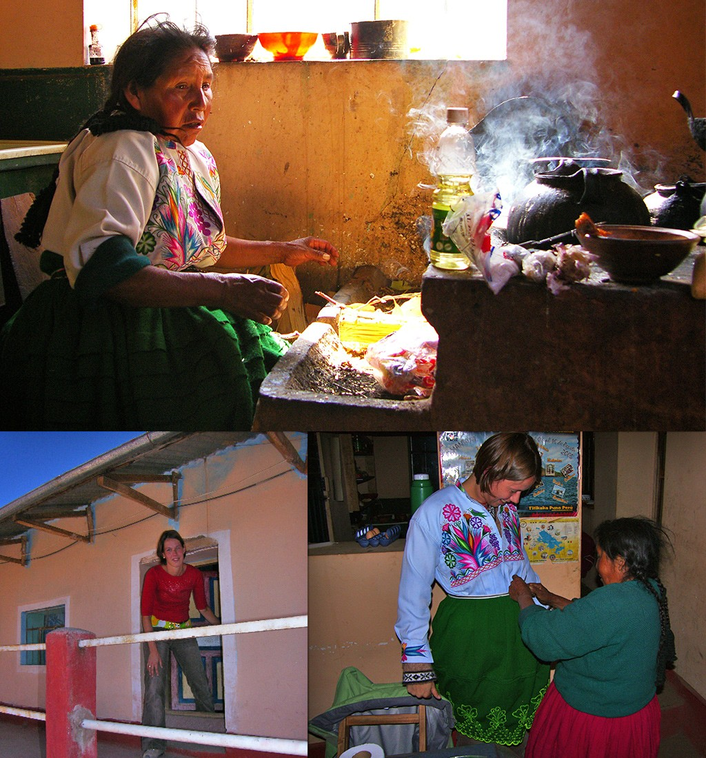onze homestay in Peru