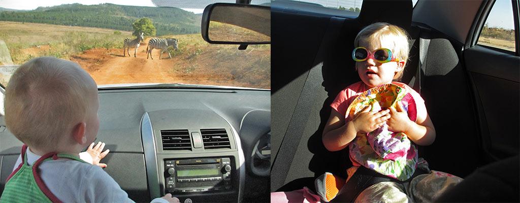 Selfdrive met kinderen in Zuid-Afrika