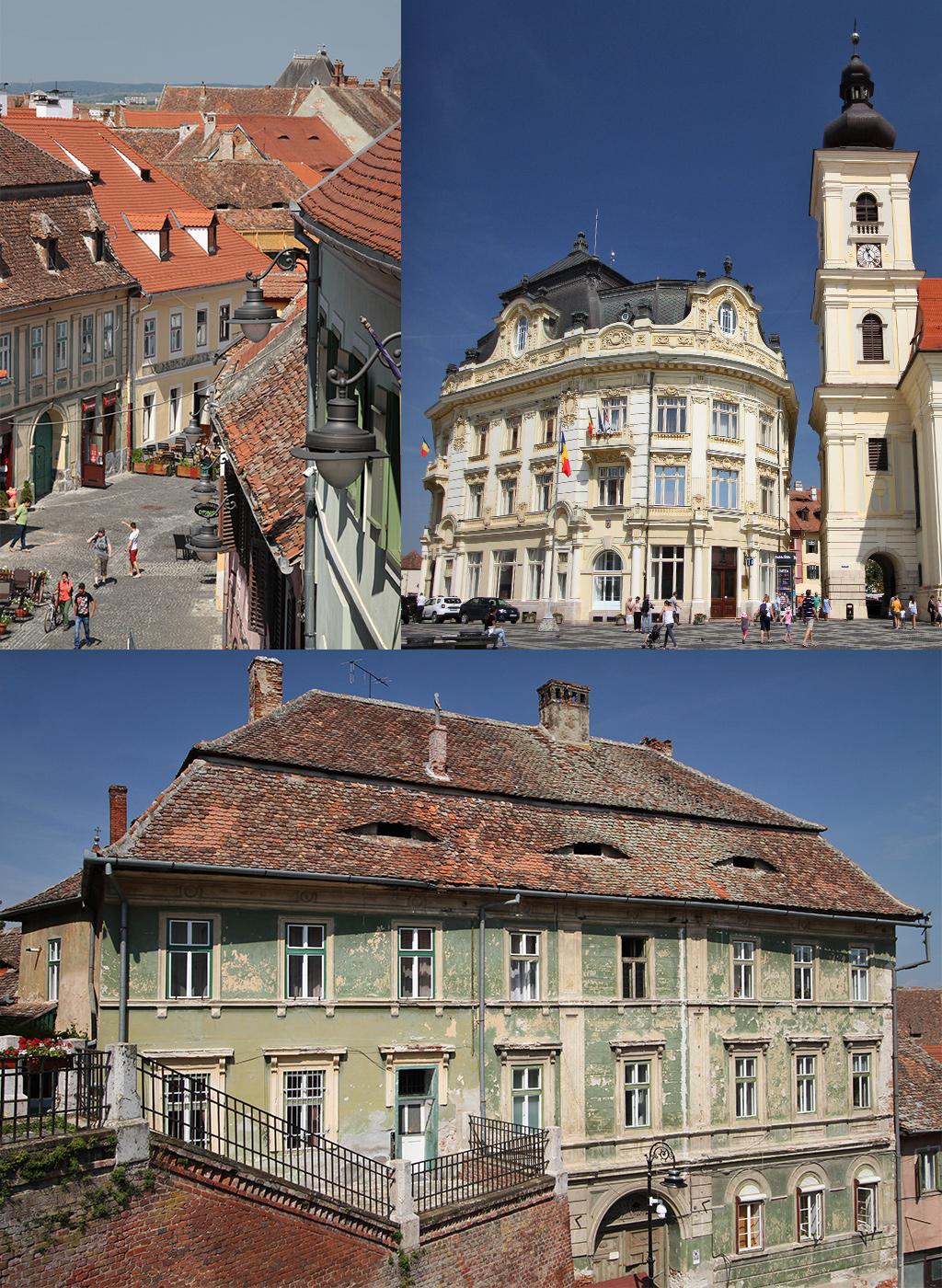 oude centrum Sibiu