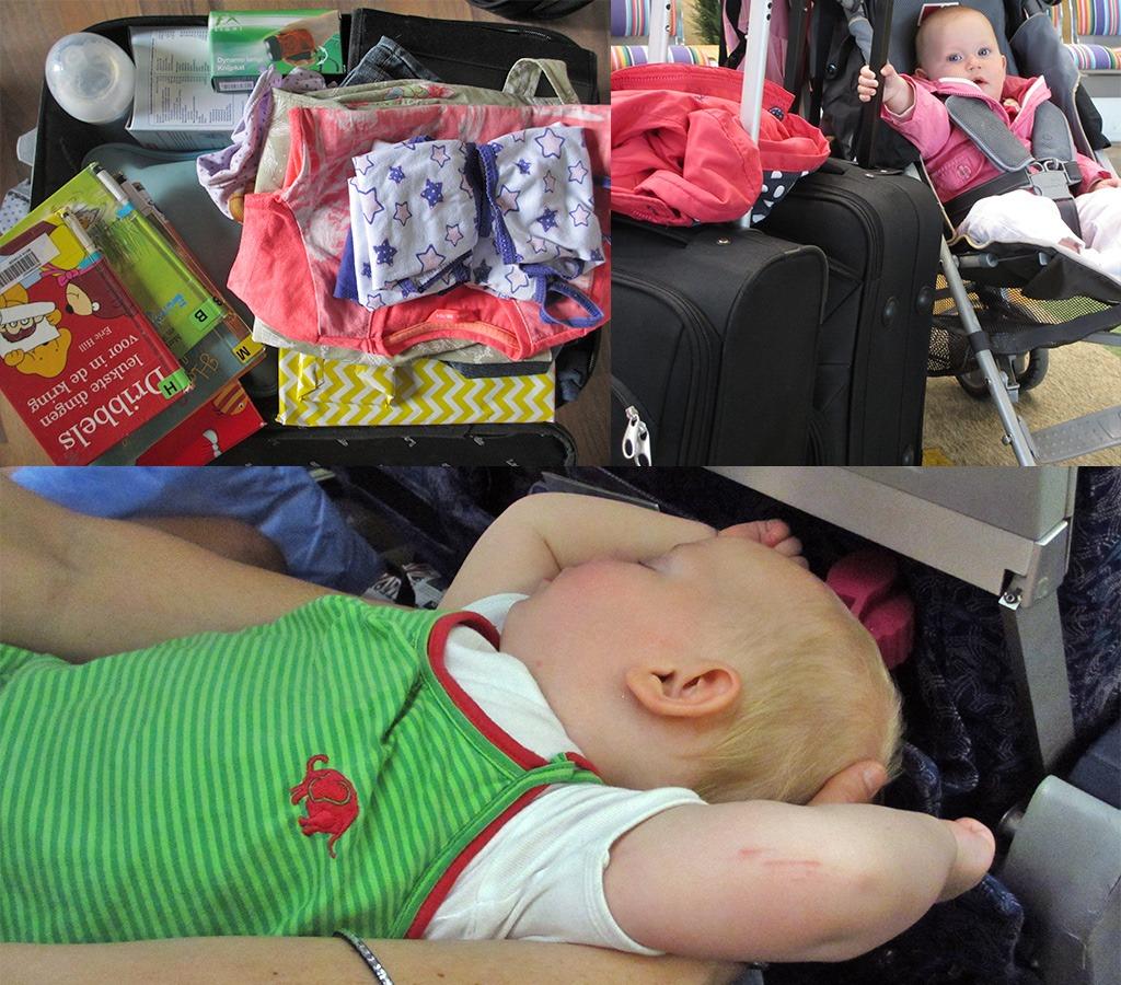 paklijst bagage baby