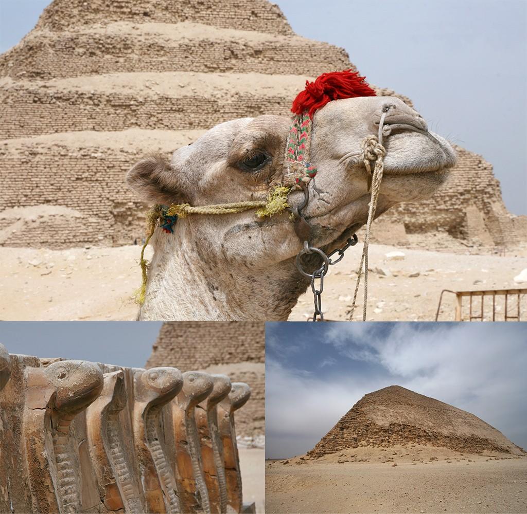 piramides buiten Cairo