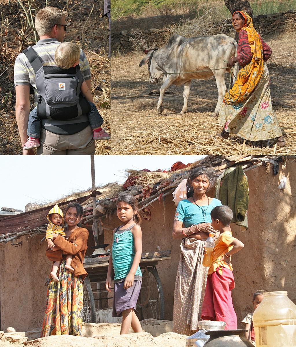 platteland India met baby