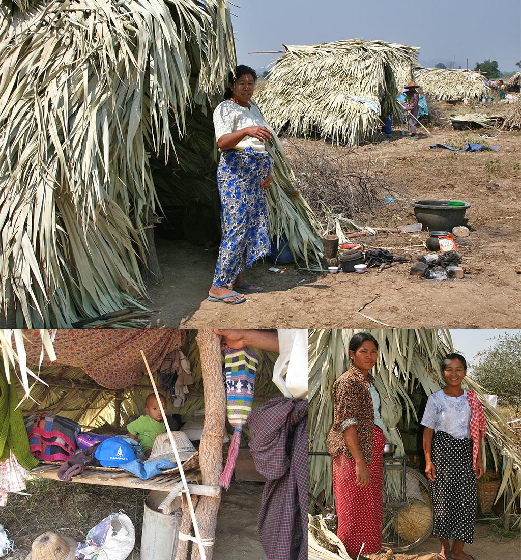 platteland bij Mandalay