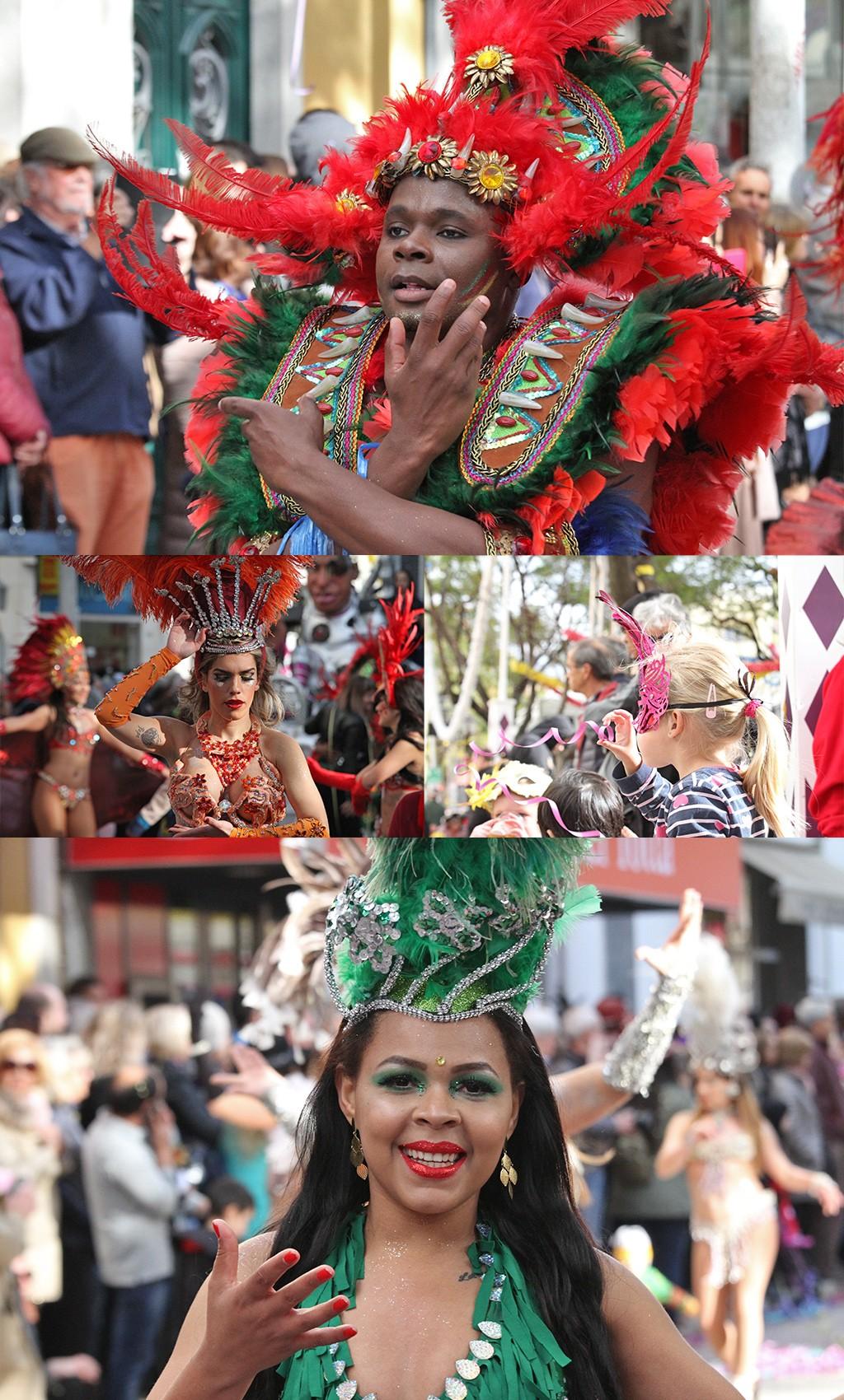 prachtige dansers carnaval Loulé