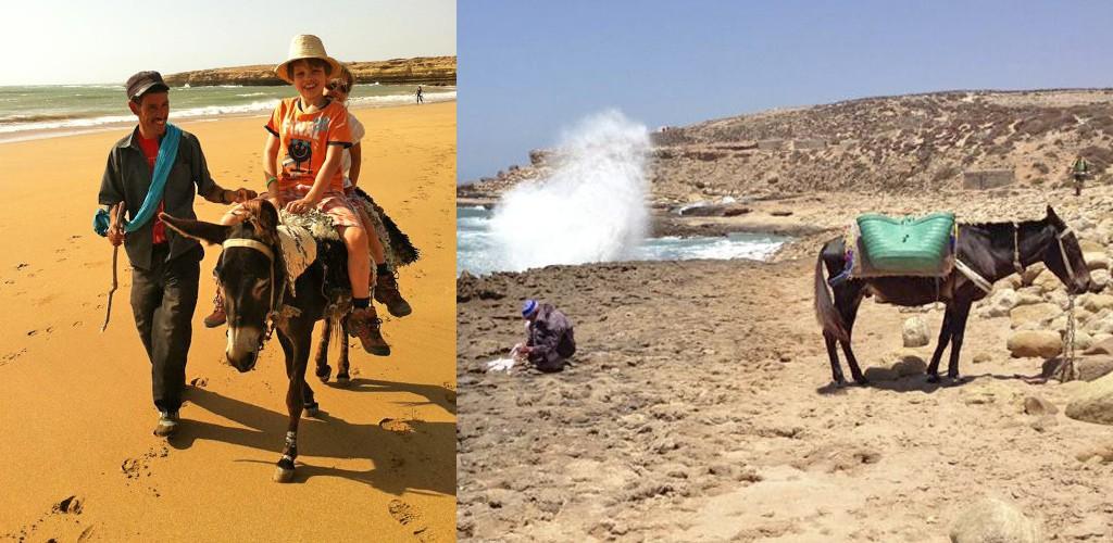 rampspoed op reis - Marokko strand