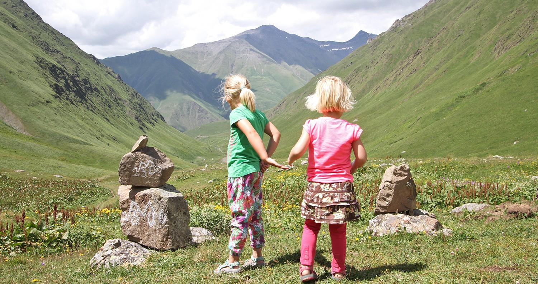reisfilm Georgië met kinderen