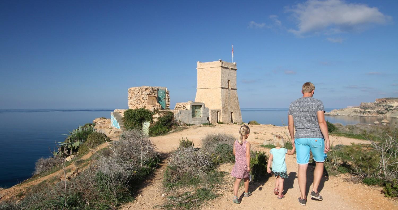 reisfilm Malta met kinderen