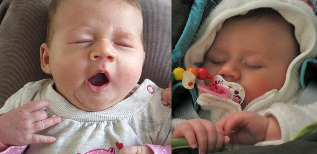 Reizen met baby en slaapjes